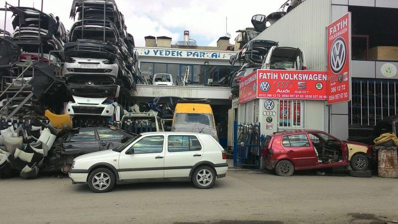 volkswagen Çikma yedek parÇa ankara - fatİh volkswagen
