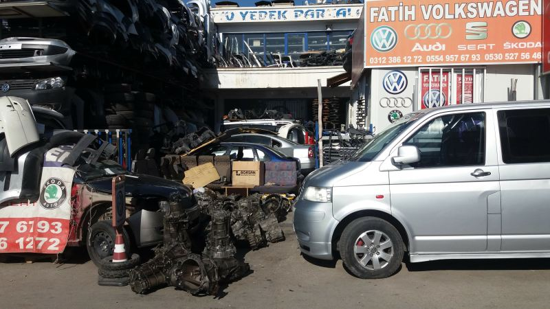 volkswagen yedek parça ankara - volkswagen Çikma parÇalari